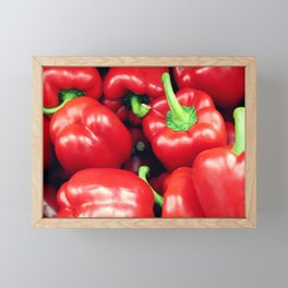 Red Peppers Framed Mini Art Print