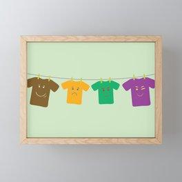 Hanging Tee Family Framed Mini Art Print