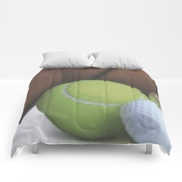 Sports Love Variety of Balls Comforters
