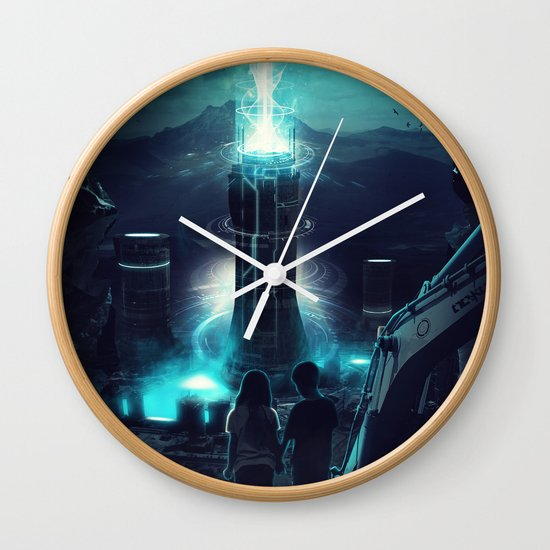Where we once played Wall Clock