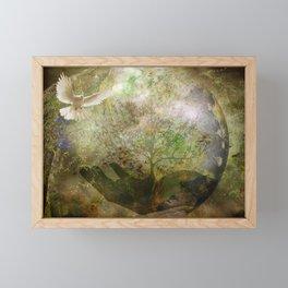 Trees For Peace Framed Mini Art Print