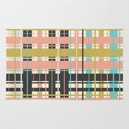 Plaid pattern Rug