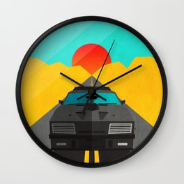 Max is Mad Wall Clock
