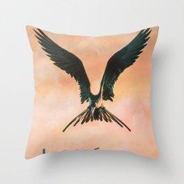 Bird 2 Throw Pillow