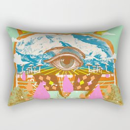 PEACE ON THE RISE Rectangular Pillow