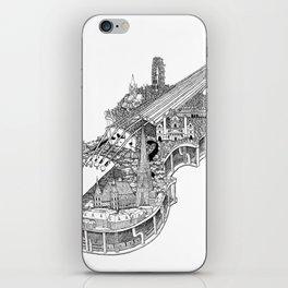 Violin City iPhone Skin