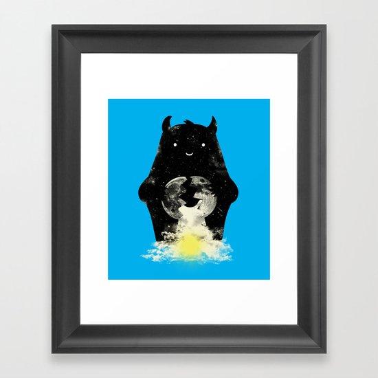 Mr. Daybreak Framed Art Print