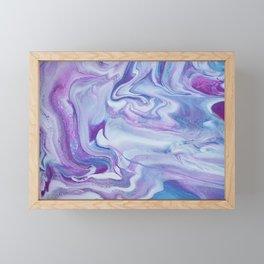 Lavender Haze Framed Mini Art Print