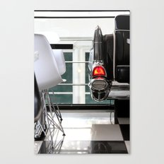 Diner Taillight Canvas Print