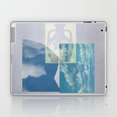 Portland Vase in Blue Laptop & iPad Skin