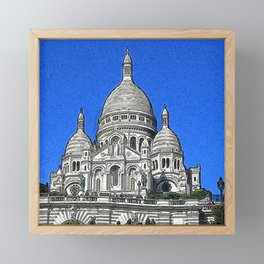 Paris_20190402_by_JAMColors Framed Mini Art Print