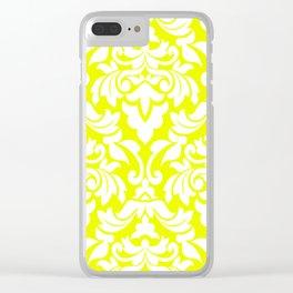 Lemon Fancy Clear iPhone Case