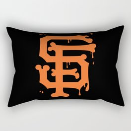 SF Bones Rectangular Pillow