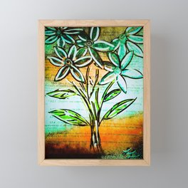 Confidenial Framed Mini Art Print