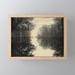 What Four Below Feels Like Framed Mini Art Print
