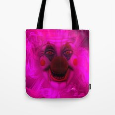 Cotton Candy Clown Tote Bag