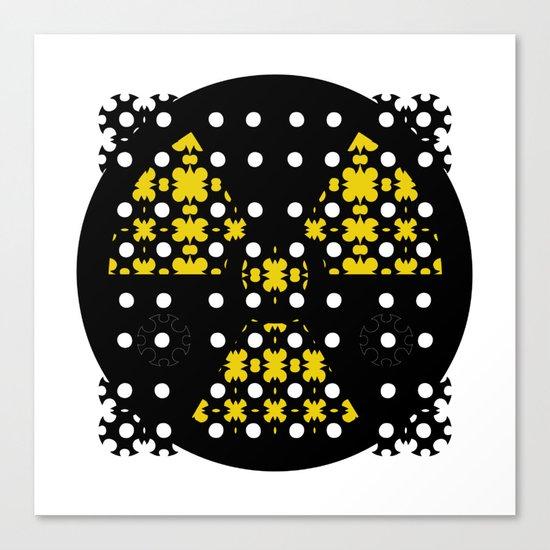 Mon&Nuclear Canvas Print