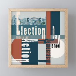 Election Day  2 Framed Mini Art Print