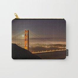 GOLDEN GATE BRIDGE NIGHT SAN FRANCISCO CALIFORNIA Carry-All Pouch