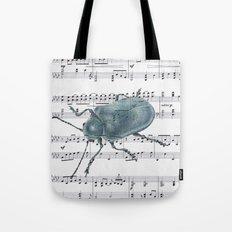 Music Beetle Tote Bag