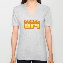 Level up Unisex V-Neck