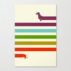 (Very) Long Dachshund Canvas Print