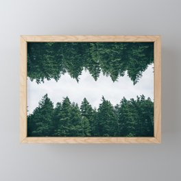 Forest Reflections X Framed Mini Art Print