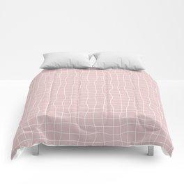 Googly Grid Comforters