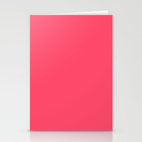 Pinky Red Stationery Cards