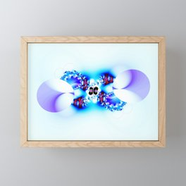 Decorated Infinity Polar Ice Framed Mini Art Print