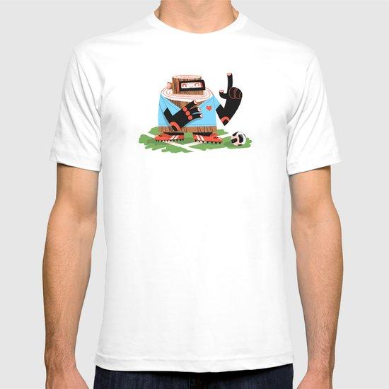 Wooden Robot Valentine T-shirt