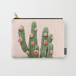 CACTUS AND ROSES Carry-All Pouch