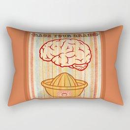 Rack your brains Rectangular Pillow