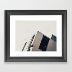 Modern Architecture Framed Art Print