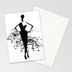 Goddess art print Stationery Cards
