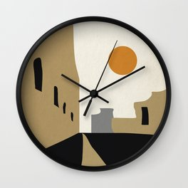 street-Abstract Wall Clock