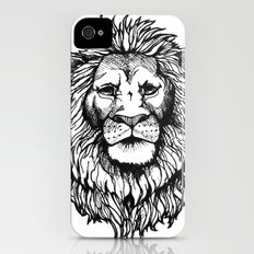 Lion iPhone (4, 4s) Slim Case