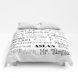 Narnia Comforters