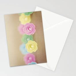 Plastic Flowers 2 Stationery Cards