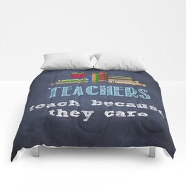 They care | Male teachers Comforters