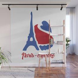Paris-cupcakes Wall Mural