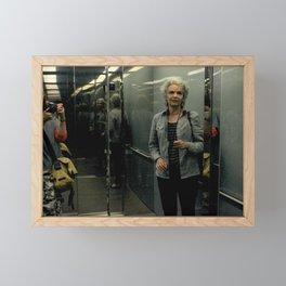 Between Floors Framed Mini Art Print