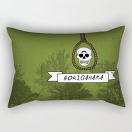 Aokigahara Rectangular Pillow