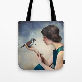 The Key to Wonderland Tote Bag