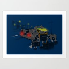 Back to Glorious Age Art Print