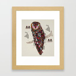 HATKEE Collaboration by Kyle Naylor and Kris Tate Framed Art Print
