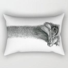 Funny Ostrich SK060 Rectangular Pillow