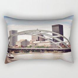 Frederick Douglass–Susan B. Anthony Memorial Bridge | Rochester NY Rectangular Pillow