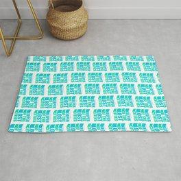 Bookish KEEPER pattern Rug