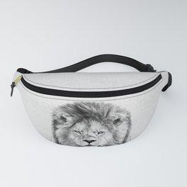 Lion 2 - Black & White Fanny Pack